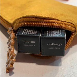 Melt Cosmetics Lipsticks Stepford and On-The-Go